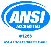 Phigenics ANSI Accredited Logo