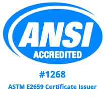 Phigenics ANSI Accredited Logo