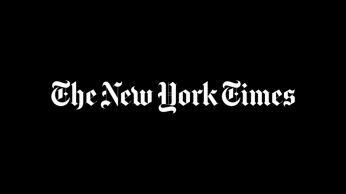 New York Times nameplate