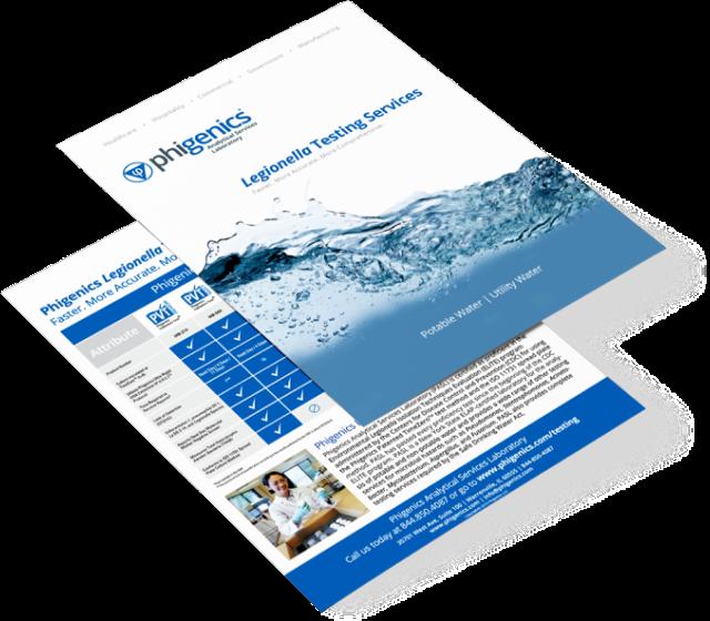 Legionella Testing Services Brochure